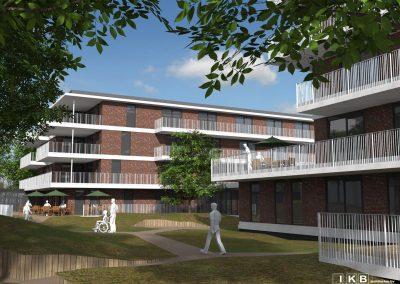 nieuwbouw zorgcomplex Duinrand