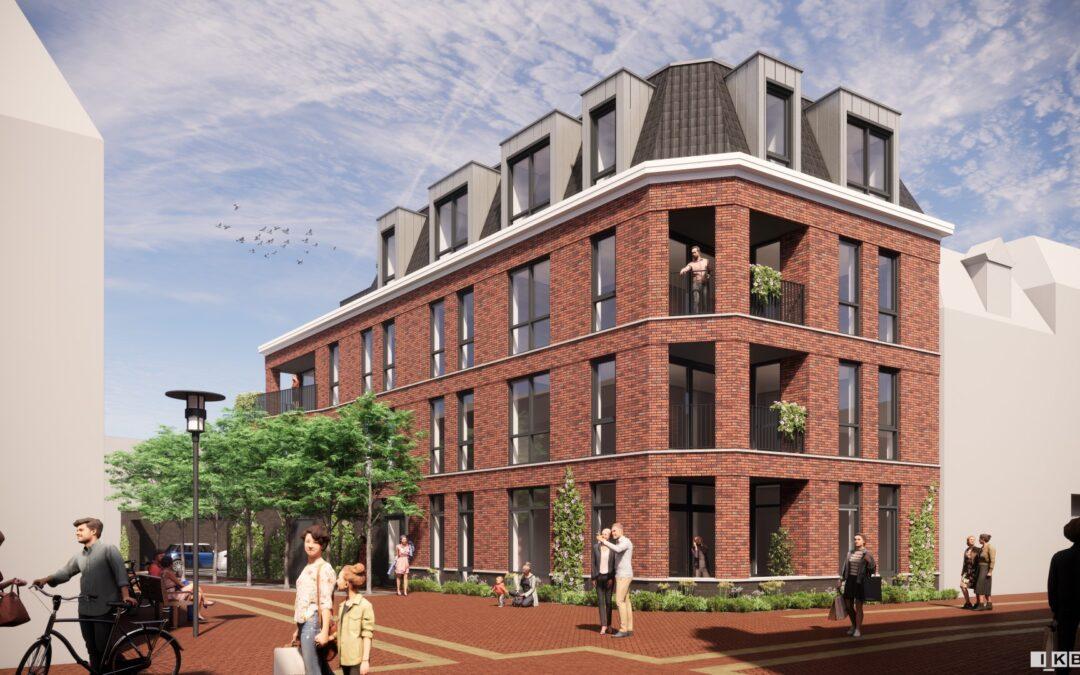 Binnenkort start bouw appartementen centrum Almelo