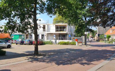 Bouw 8 appartementen Hellendoorn vordert gestaag!